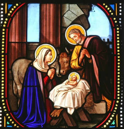 Nativity scene, Church of St. Catherine, Bethlehem